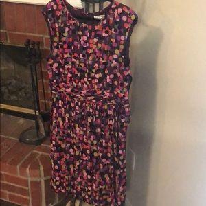Boden color splash sleeveless dress